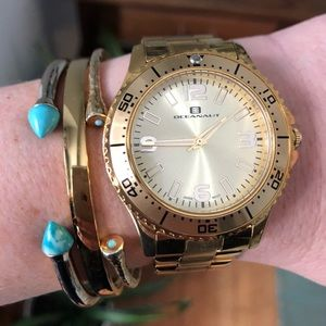 Oceanaut Camora Gold Tone watch OC9812